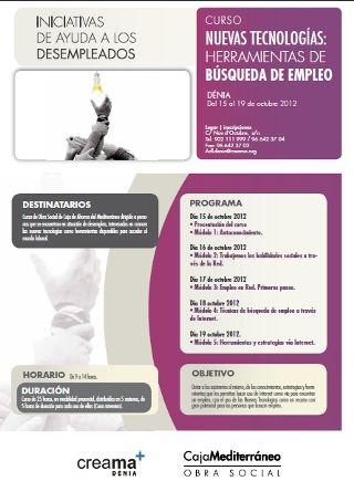 20121002_Curso_Busqueda_empleo_Denia