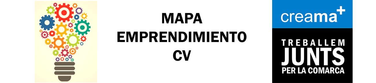 Mapa Entidades Servicios Ecosistema Emprendedor Comunidad Valenciana
