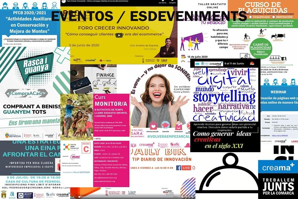 Eventos Concursos Premios Jornadas Presentaciones Ferias Marina Alta