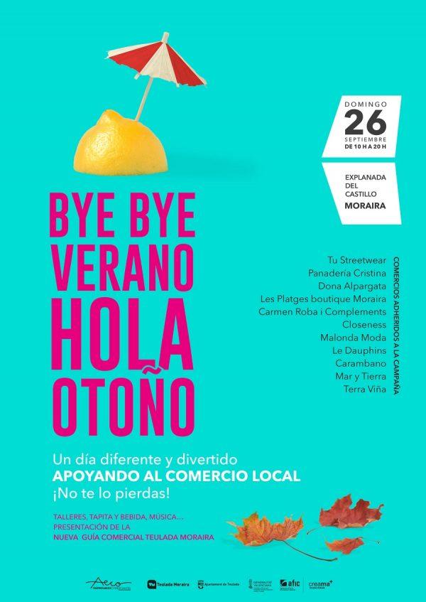 Bye Bye Verano, la feria anual de stock para despedir el verano en Teulada Moraira