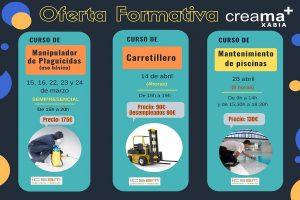 Nueva oferta formativa en Xàbia para la obtención de carnets profesionales