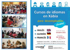 Cursos de idiomas para desempleados en Xàbia
