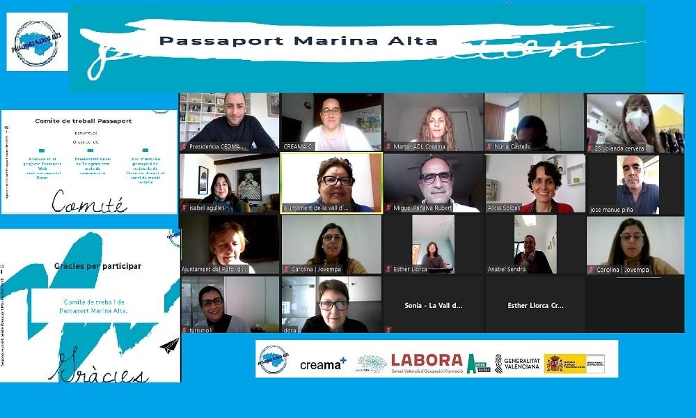 Passaport Marina Alta, Segunda reunión del comité de trabajo.