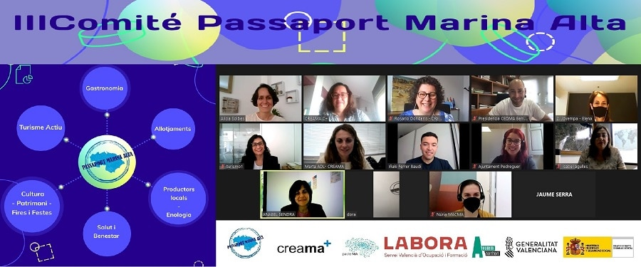 III Reunión comité asesor, Passaport Marina Alta