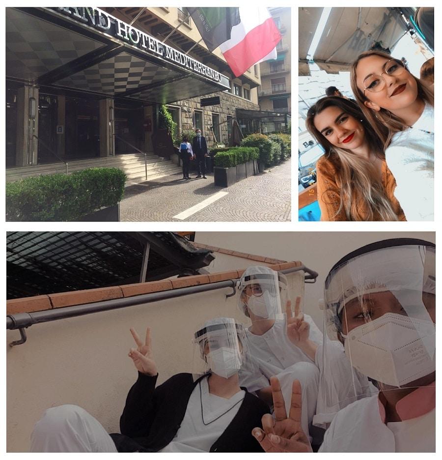 Alumnado de la Marina alta disfrutando de las becas Erasmus+ gestionadas por Creama