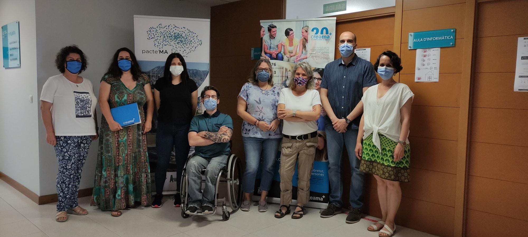 CREAMA colabora con Forem PV-CCOO en la realización de prácticas no laborales de 3 alumnas.