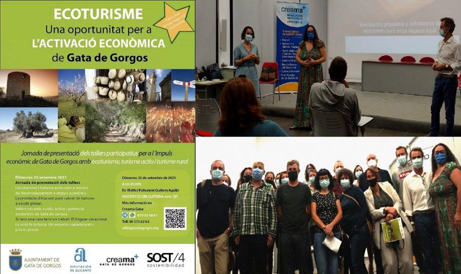 Passaport Marina Alta participa en la presentación de las jornadas de Ecoturismo en Gata de Gorgos.