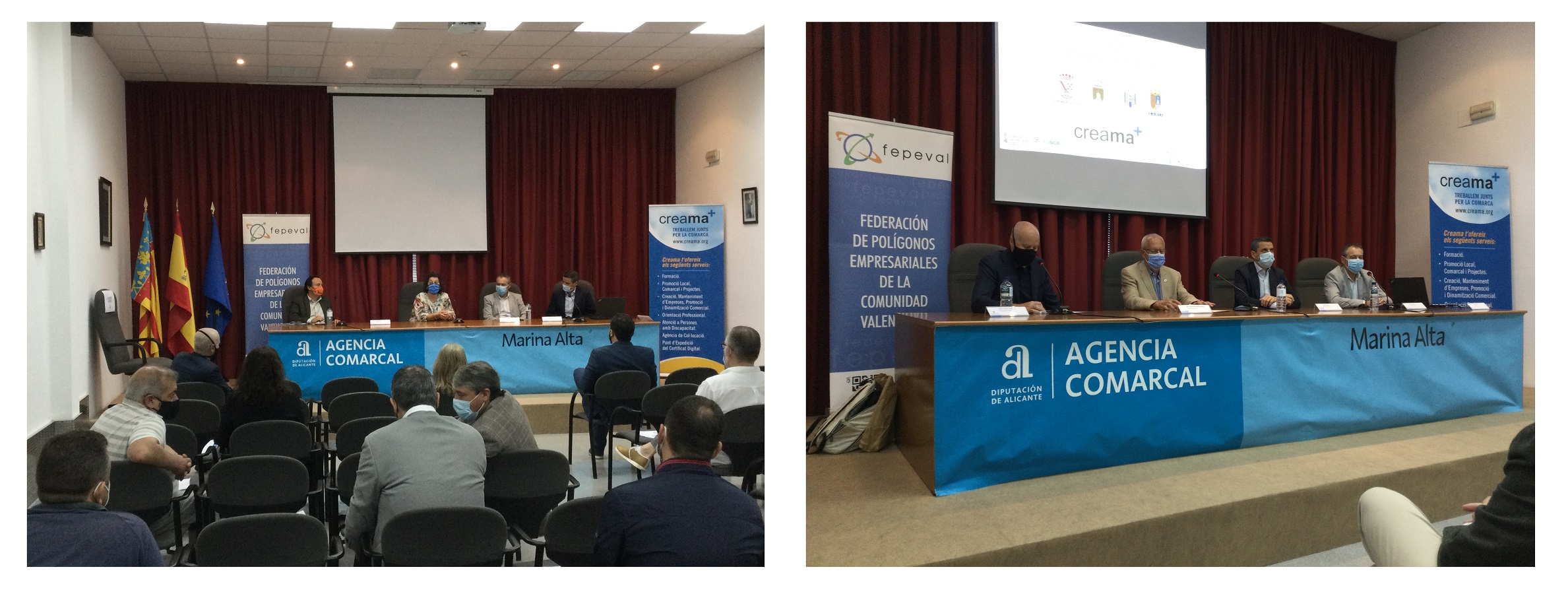 Creama junto con IVACE y FEPEVAL organiza las II jornadas sobre creación de Entidades de Gestión y Modernización.