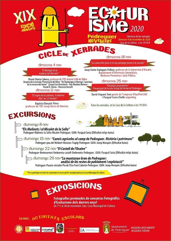 Ecoturismo 2020. XIX Edición Pedreguer