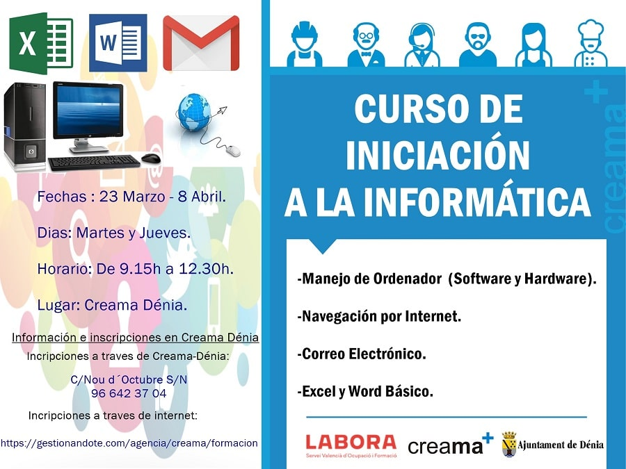 INICIACIÓN A LA INFORMÁTICA E INTERNET