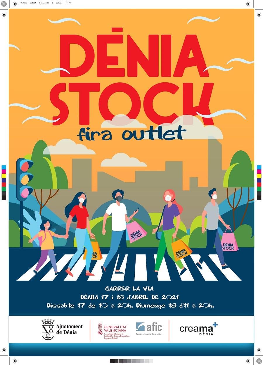Nueva edición de la feria del stock en la calle La Vía