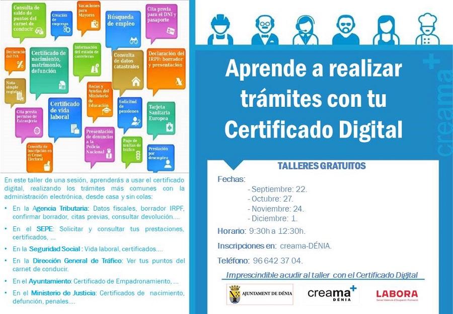 Aprende a realizar trámites a través del Certificado Digital