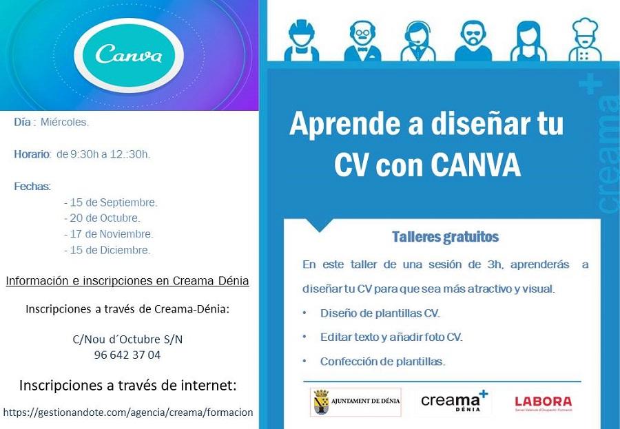 Aprende a diseñar tu Curriculum con CANVA